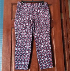 ❇ 3 for $10 ❇ Patterned Capris Size 14 Old Navy